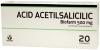 ACID ACETILSALICILIC 500 mg