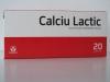 Calciu lactic 500mg